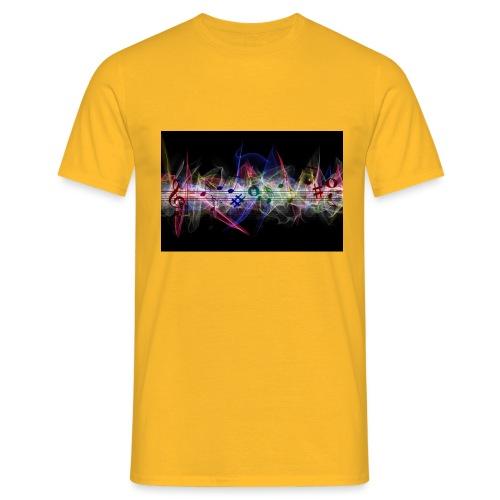 Pentagramma blues - Maglietta da uomo