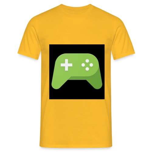 Games Spiel Logo - Männer T-Shirt