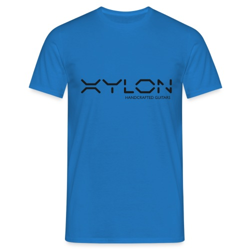 Xylon Handcrafted Guitars (plain logo in black) - Men's T-Shirt