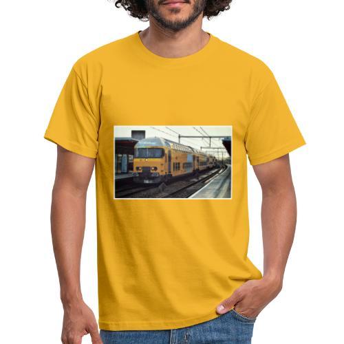Dubbeldekker in Almere Buiten - Mannen T-shirt