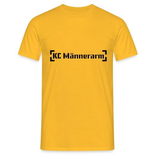 KC Maennerarm Letter - Männer T-Shirt