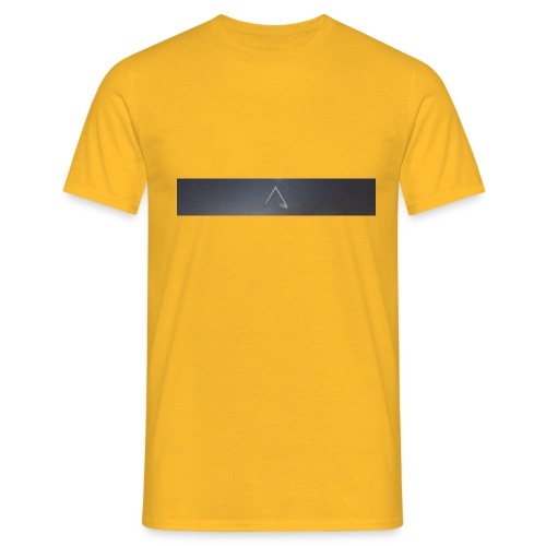 A symbol Header Dark - Men's T-Shirt