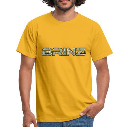 BRINZ Militare Fronte Retro - Maglietta da uomo