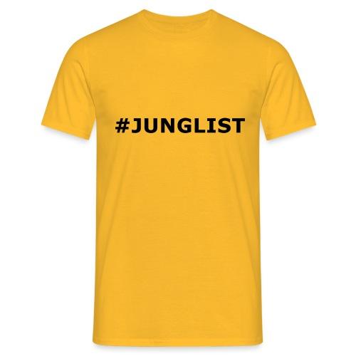 Hashtag Junglist - Men's T-Shirt