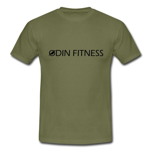 OdinFitnessBlack - Men's T-Shirt