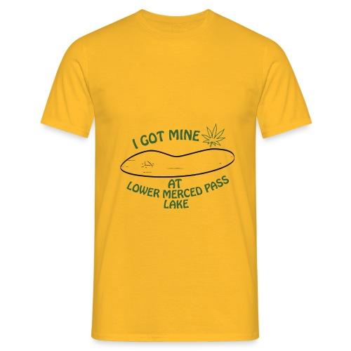 Lago Lower - Camiseta hombre