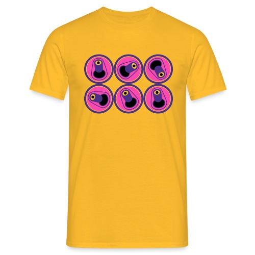 6 PACK - Camiseta hombre