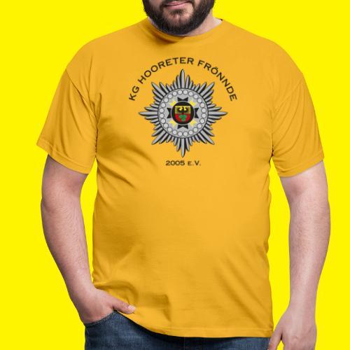 Schwarze Schrift - Männer T-Shirt