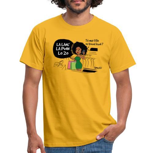 La lang la pwin lo zo - T-shirt Homme