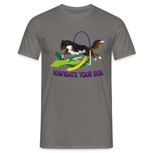 *nyd* Logo (für hellen Untergrund) - Männer T-Shirt