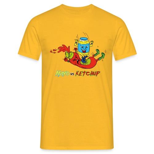 Mayo VS Ketchup - Maglietta da uomo