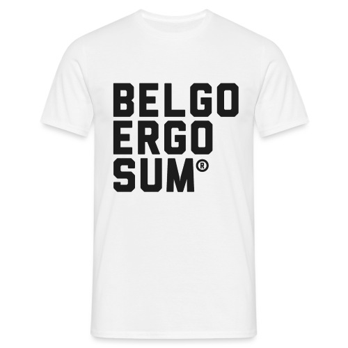 Belgo Ergo Sum - Men's T-Shirt