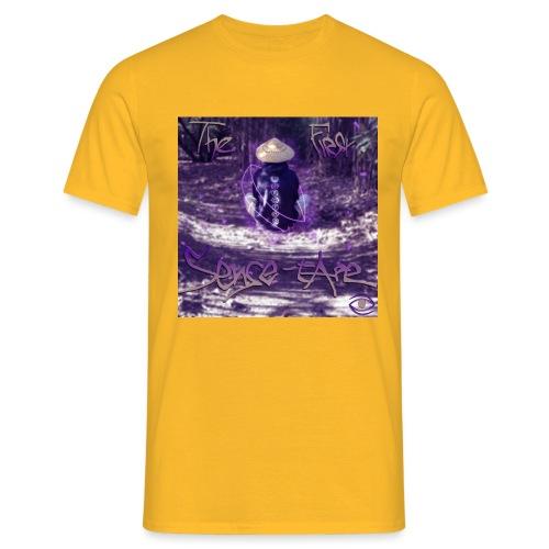 the first sense tape jpg - Men's T-Shirt
