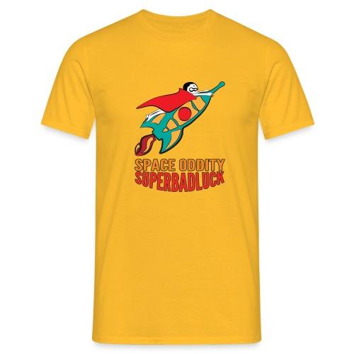 superbadluck- SPACEODDITY - Maglietta da uomo