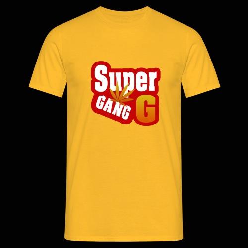 SuperG-Gang - Herre-T-shirt