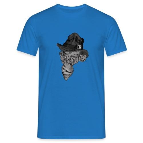 Monkey in the hat - Men's T-Shirt