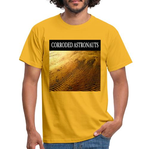 Corroded Astronauts Album Cover - T-shirt herr