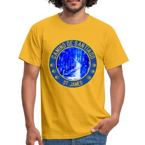 Jakobsweg: Camino de Santiago/ St. James - Männer T-Shirt