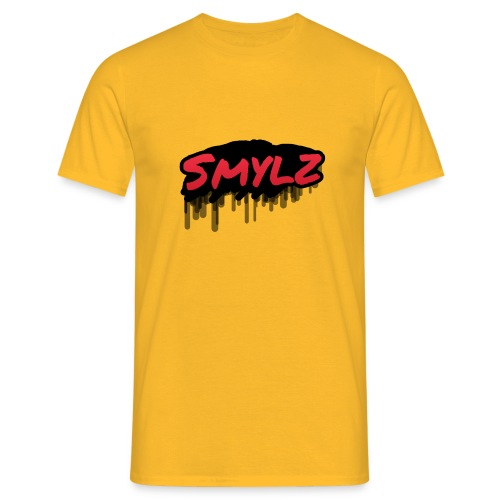 Smylz graffiti logo - T-shirt herr