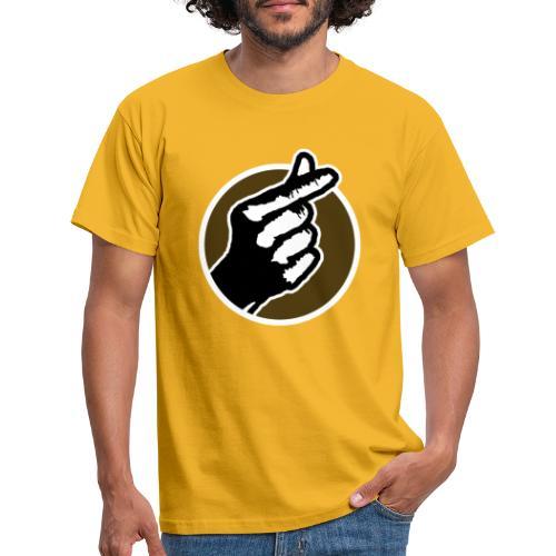 Koreaans Vingerhartje - Mannen T-shirt