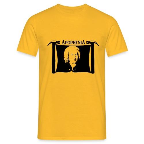 Apophenia Black Logo - Mannen T-shirt