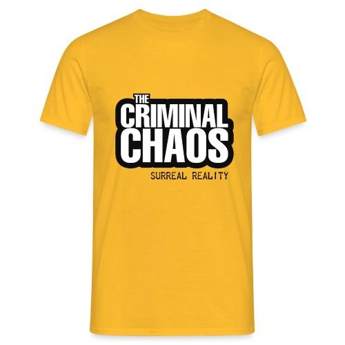 THE CRIMINAL CHAOS - Logo 2020 - SURREAL REALITY - Maglietta da uomo