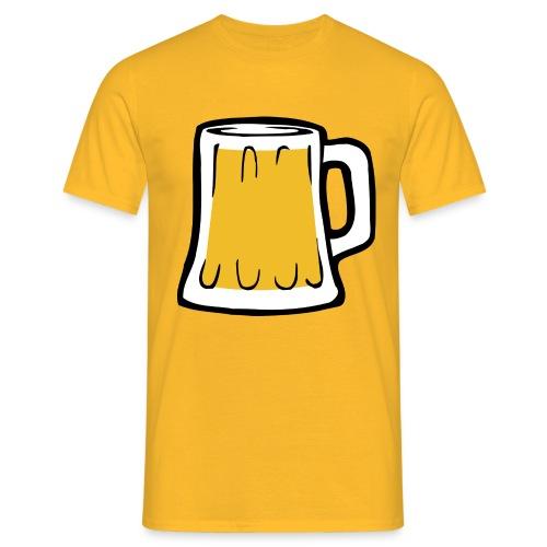 Boccale birra - Maglietta da uomo