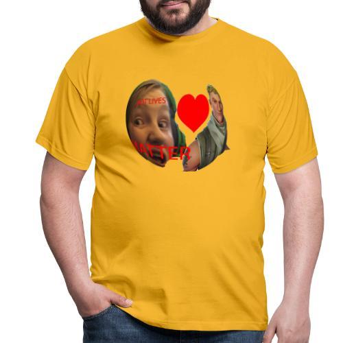 Bot lives matter - T-skjorte for menn