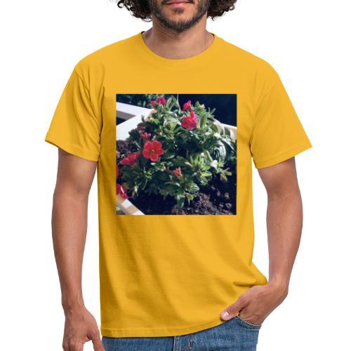 Blumen Foto - Männer T-Shirt