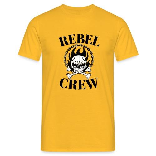 rebel crew - T-shirt Homme