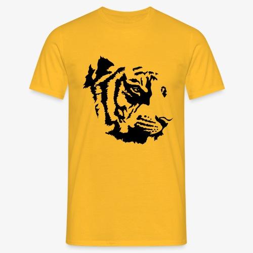 Tiger head - T-shirt Homme