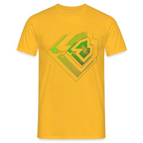 BRANDSHIRT LOGO GANGGREEN - Mannen T-shirt