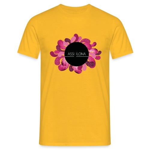 Lippis punaisella logolla - Miesten t-paita