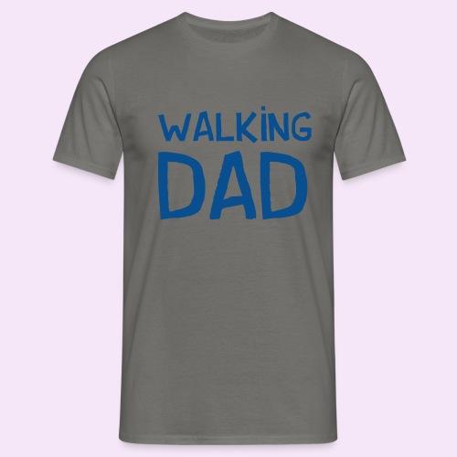 Vierdaagse Nijmegen - Walking Dad BLUE - Mannen T-shirt
