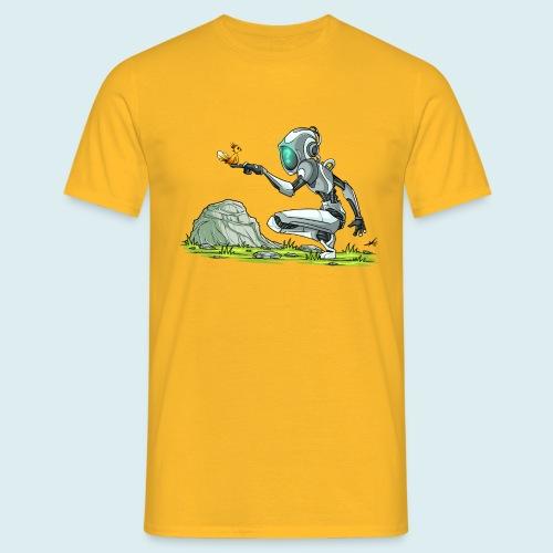 funny robot - Maglietta da uomo