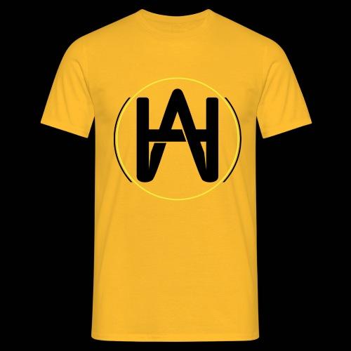 Hombre Alpha Logo Gold - Camiseta hombre