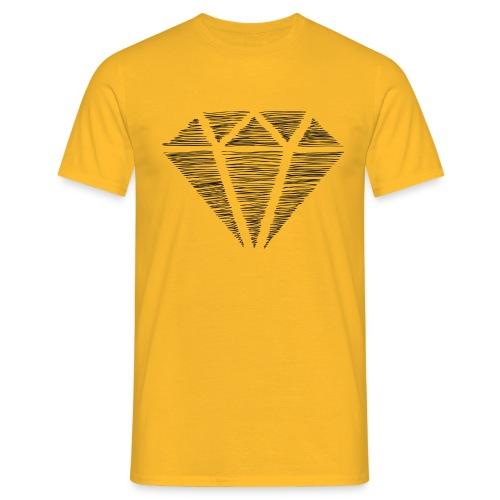 Diamante - Camiseta hombre