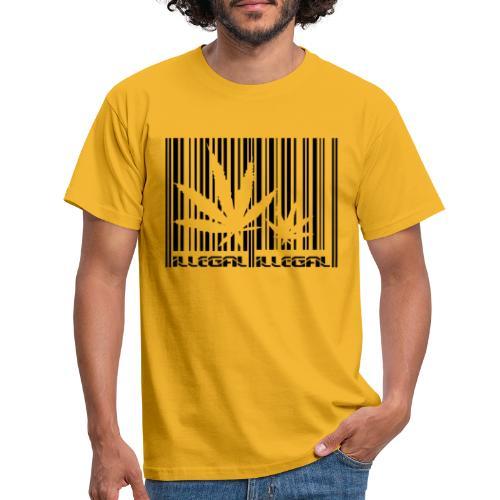 Illegal - T-shirt herr