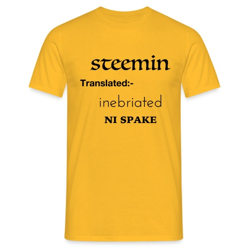 steemin - Men's T-Shirt