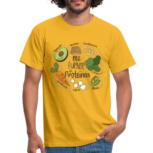 Mi fuente de proteinas - Camiseta hombre