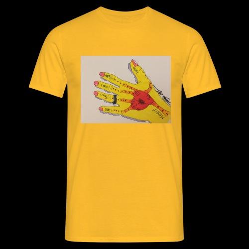 9D8D600F D04D 4BA7 B0EE 60442C72919B - Herre-T-shirt