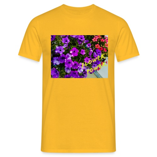 Flower Power - Männer T-Shirt