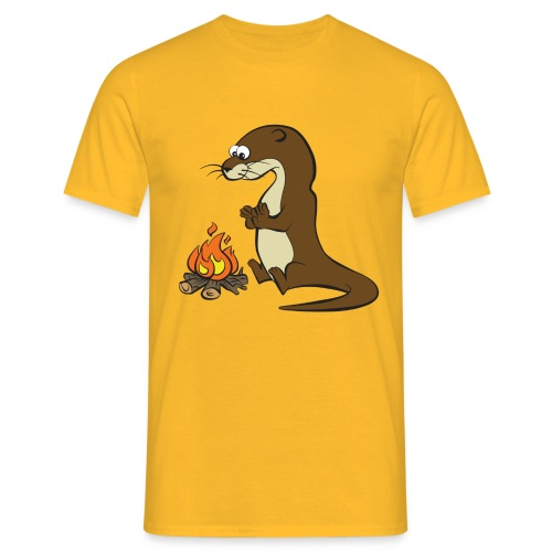 Song of the Paddle; Quentin campfire - Men's T-Shirt