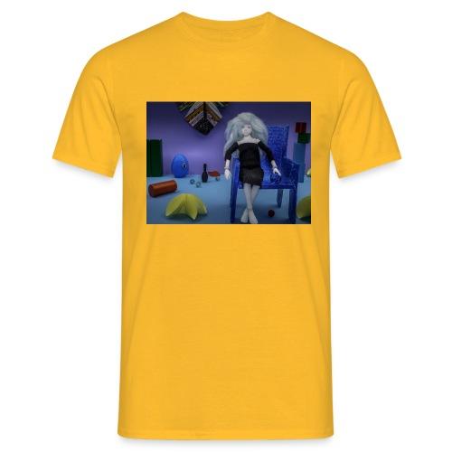 Pop in een fantasie wereld - Mannen T-shirt