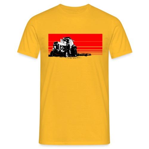 Sunset tractor - Maglietta da uomo