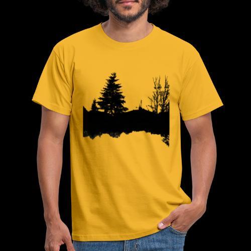 Sapin et racines - T-shirt Homme