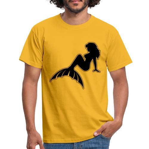 Classic Mermaid NoCircle - Men's T-Shirt
