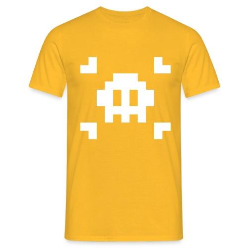 Pixel Skull - T-shirt Homme
