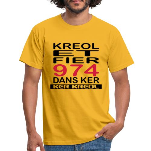 fier et kreol hom 02 ti - T-shirt Homme
