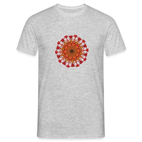 Mandala #1 - Mannen T-shirt
